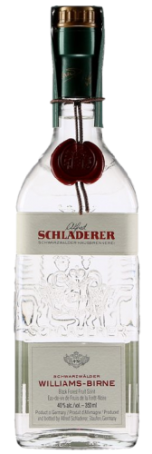 Alfred Scladerer - Williams-Birne  (Williams Pear Brandy) - Code SAQ:12878347